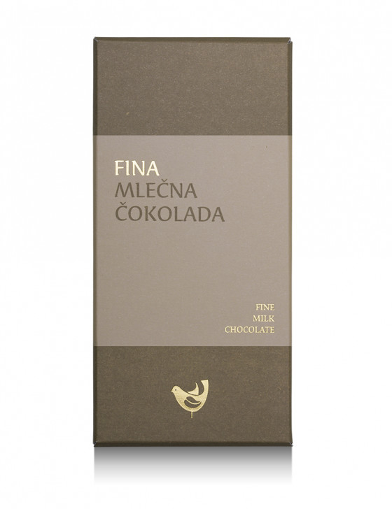 Fina mlečna čokolada / 100g