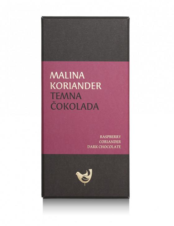 Malina, koriander, temna...