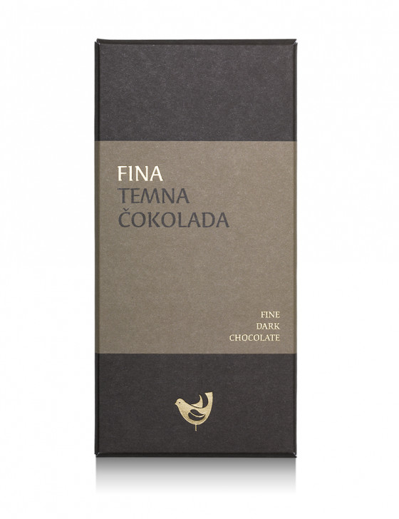 Fina temna čokolada / 100g
