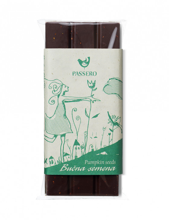 Čokoladica z bučnimi semeni...